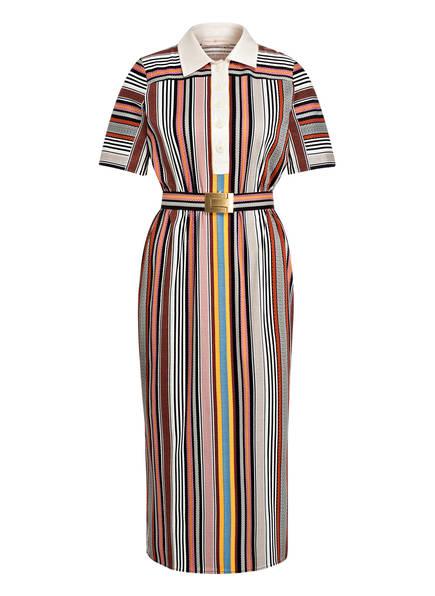 TORY BURCH Kleid, Farbe: BRAUN/ CREME/ ORANGE (Bild 1)