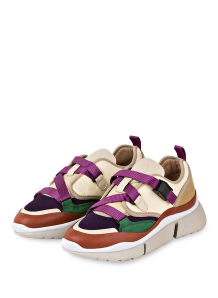 Chloé Sneaker SONNIE LOW, Farbe: FIZZY PURPLE (Bild 1)