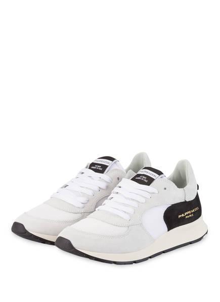 PHILIPPE MODEL Sneaker MONTECARLO, Farbe: CREME/ SCHWARZ (Bild 1)