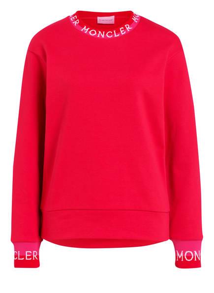 MONCLER Sweatshirt, Farbe: ROT (Bild 1)