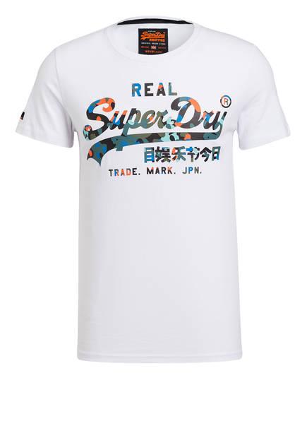 Superdry T-Shirt VINTAGE LOGO, Farbe: WEISS (Bild 1)