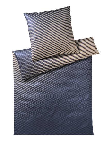 JOOP! Bettwäsche DIAMOND, Farbe: DUNKELBLAU/ BEIGE (Bild 1)