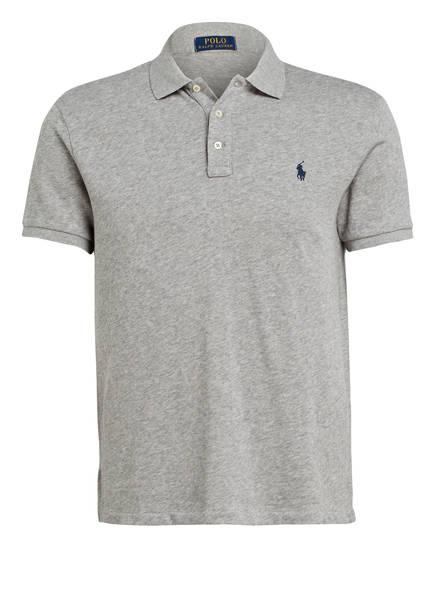 POLO RALPH LAUREN Jersey-Poloshirt, Farbe: GRAU (Bild 1)