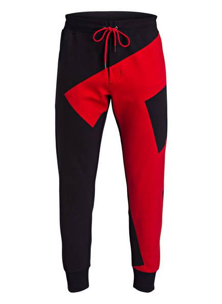 POLO RALPH LAUREN Sweatpants, Farbe: SCHWARZ/ ROT (Bild 1)