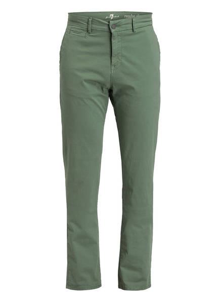 7 for all mankind Chino Regular Fit , Farbe: GRÜN (Bild 1)