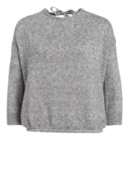 PATRIZIA PEPE Pullover, Farbe: GRAU MELIERT (Bild 1)