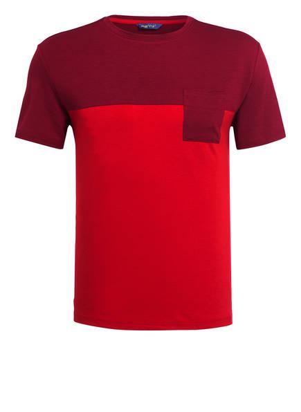 me°ru' T-Shirt TRIKALA, Farbe: ROT (Bild 1)
