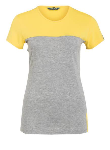 me°ru' T-Shirt PERAMA, Farbe: GELB/ GRAU (Bild 1)