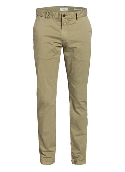 CLOSED Chino CLIFTON Skinny Fit, Farbe: KHAKI (Bild 1)