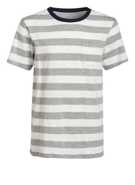 J.Crew T-Shirt, Farbe: WEISS/ GRAU GESTREIFT (Bild 1)