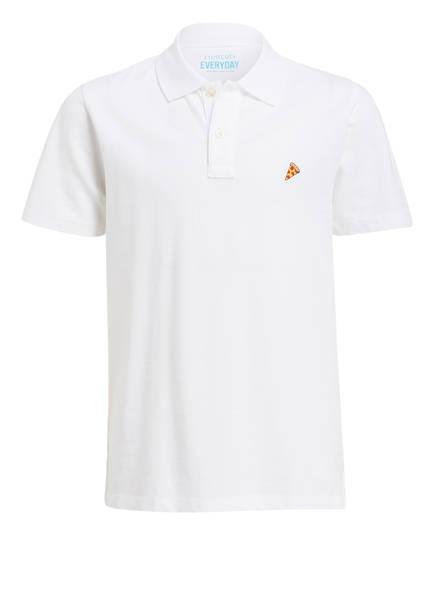 J.Crew Piqué-Poloshirt, Farbe: WEISS (Bild 1)