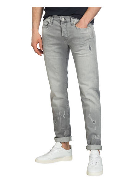 Skinny Religion Fit True Rocco jeans Destroyed Grey Slate Relaxed Rxw7za