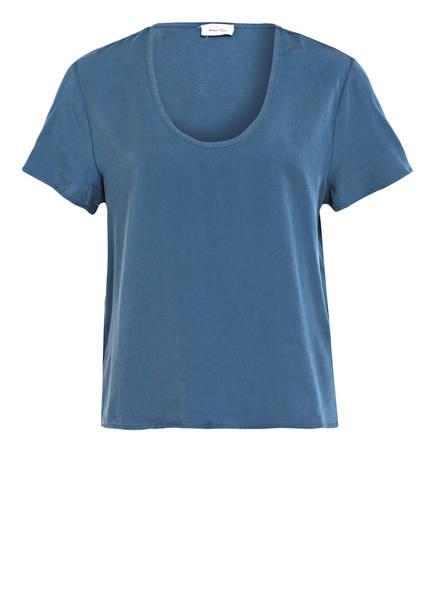 American Vintage T-Shirt NALA, Farbe: BLAU (Bild 1)