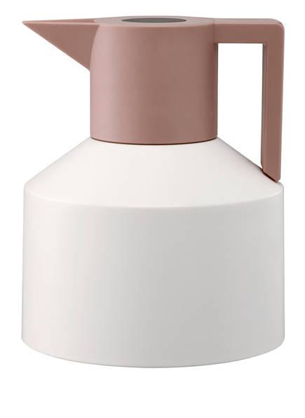 normann COPENHAGEN Isolierkanne GEO, Farbe: WEISS/ BRONZE (Bild 1)
