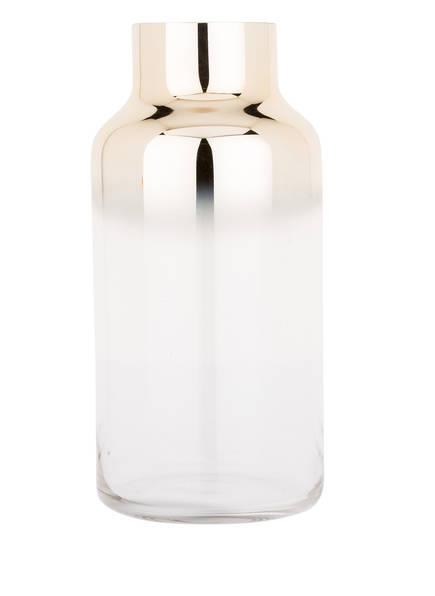 Bloomingville Vase , Farbe: TRANSPARENT/ GOLD (Bild 1)