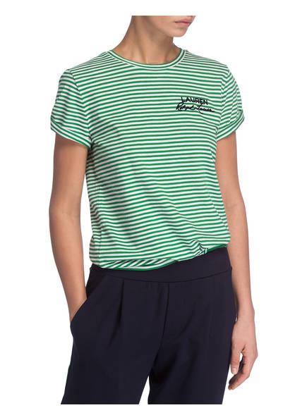 Katonda Grün Gestreift T Lauren Ralph Weiss shirt nxZqSq7