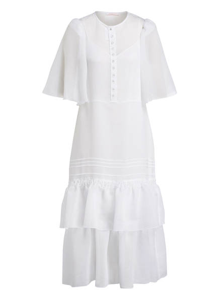 SEE BY CHLOÉ Kleid, Farbe: WEISS (Bild 1)