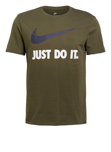 Nike T-Shirt SWOOSH, Farbe: OLIV (Bild 1)
