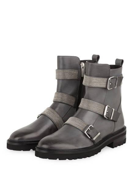 STEFFEN SCHRAUT Boots 38 CHAIN ROAD, Farbe: GRAU (Bild 1)