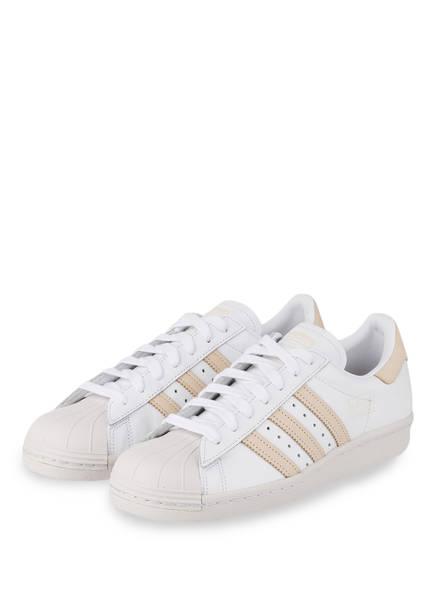 pretty nice 84f04 4e6ef adidas Originals Sneaker SUPERSTAR 80S, Farbe WEISS  BEIGE (Bild 1)