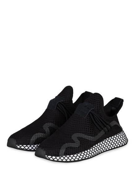 Sneaker Adidas S Weiss Originals Schwarz Deerupt 4ww5g