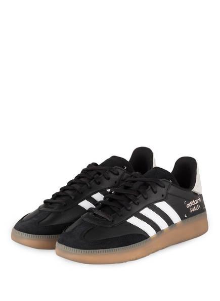 adidas Originals Sneaker SAMBA RM, Farbe: SCHWARZ/ WEISS (Bild 1)