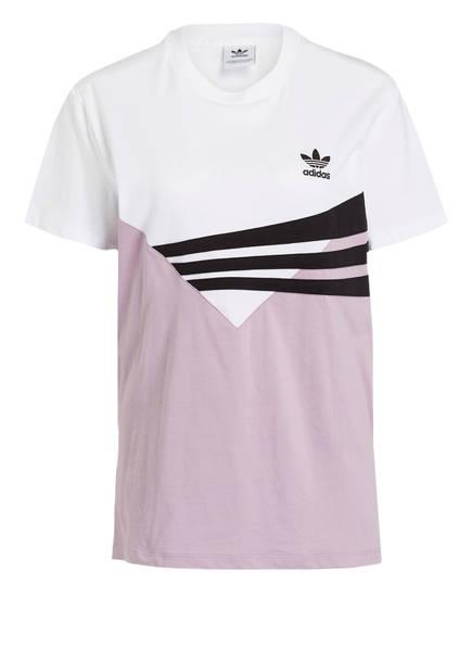 adidas Originals T-Shirt, Farbe: WEISS/ HELLLILA (Bild 1)