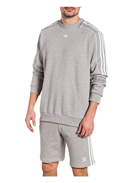 Grau Adidas Sweatshirt Grau Originals Sweatshirt Adidas Meliert Originals xw4EEqtrY