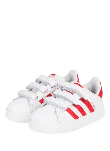 adidas Originals Sneaker SUPERSTAR , Farbe: WEISS/ ROT (Bild 1)