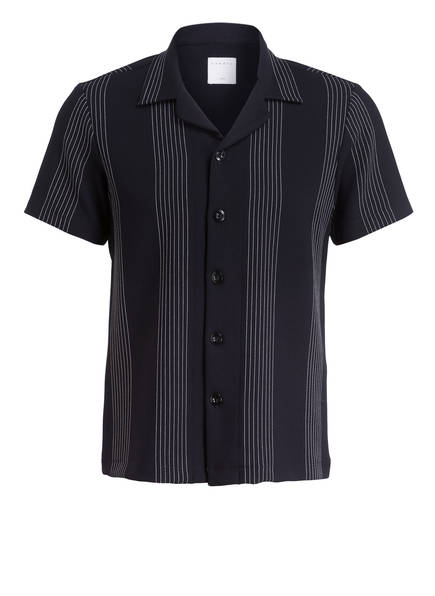 sandro Halbarm-Resorthemd Slim Fit, Farbe: DUNKELBLAU (Bild 1)