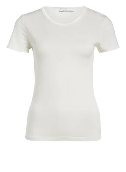 SAMSØE  SAMSØE T-Shirt LILA, Farbe: WEISS (Bild 1)