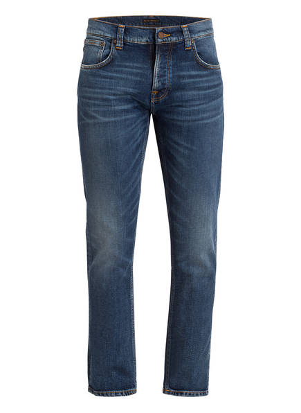 Nudie Jeans Jeans GRIM TIM Slim Straight Fit, Farbe: TRUE NAVY (Bild 1)