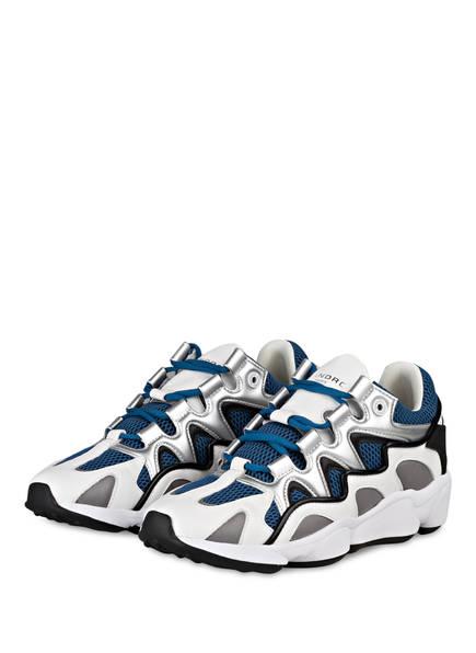 sandro Sneaker, Farbe: WEISS/DUNKELBLAU (Bild 1)