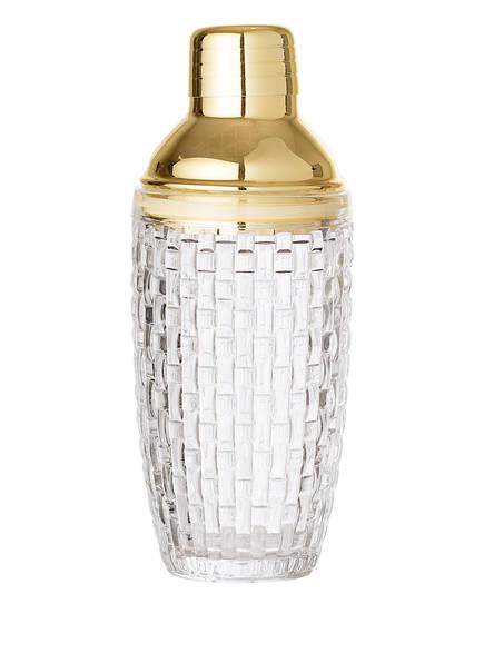 Bloomingville Shaker, Farbe: TRANSPARENT/ GOLD (Bild 1)