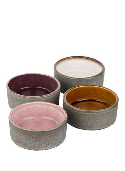 Bitz 4er-Set Schalen , Farbe: GRAU (Bild 1)