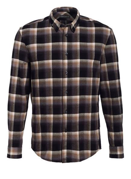 DRYKORN Hemd LOKEN Slim Fit, Farbe: CREME/ SCHWARZ/ BRAUN KARIERT (Bild 1)