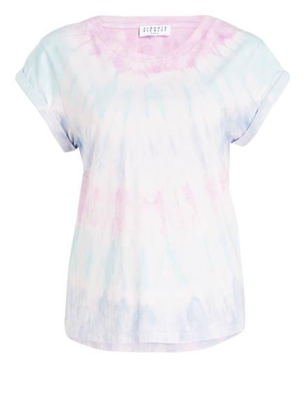 shirt Dye Claudie Lila amp; T Pierlot Tie Creme Hellblau EPgxgZTqwn
