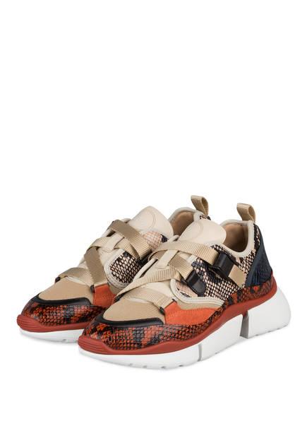 Chloé Sneaker SONNIE LOW, Farbe: ETERNAL GREY  (Bild 1)