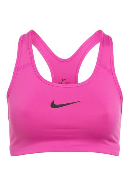 Nike Sport-BH CLASSIC SWOOSH, Farbe: FUCHSIA (Bild 1)