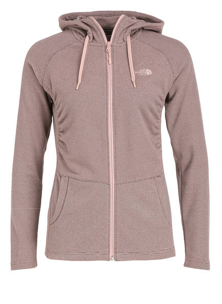 THE NORTH FACE Fleecejacke MEZZALUNA, Farbe: ROSE/ DUNKELGRAU (Bild 1)
