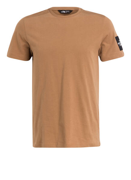 THE NORTH FACE T-Shirt FINE 2, Farbe: HELLBRAUN (Bild 1)