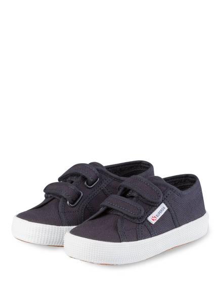 SUPERGA Sneaker COTBUMPSTRAPJ, Farbe: DUNKELBLAU (Bild 1)