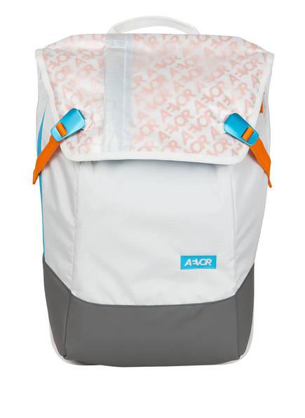 AEVOR Rucksack DAYPACK mit Laptopfach, Farbe: WEISS/ GRAU (Bild 1)