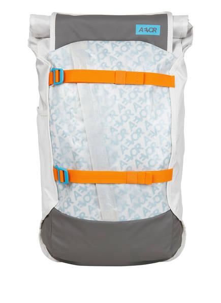 AEVOR Rucksack TRIP PACK mit Laptopfach 31 l (erweiterbar auf 33 l), Farbe: WEISS/ GRAU (Bild 1)