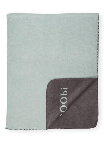 JOOP! Plaid MELANGE , Farbe: MINT/ SCHIEFER  (Bild 1)