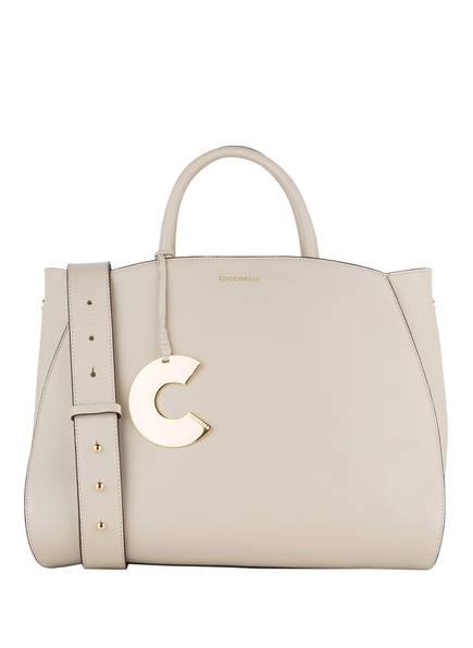 COCCINELLE Handtasche CONCRETE MEDIUM, Farbe: BEIGE (Bild 1)