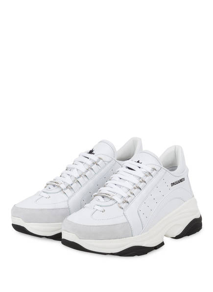 DSQUARED2 Sneaker BUMPY 551, Farbe: WEISS (Bild 1)