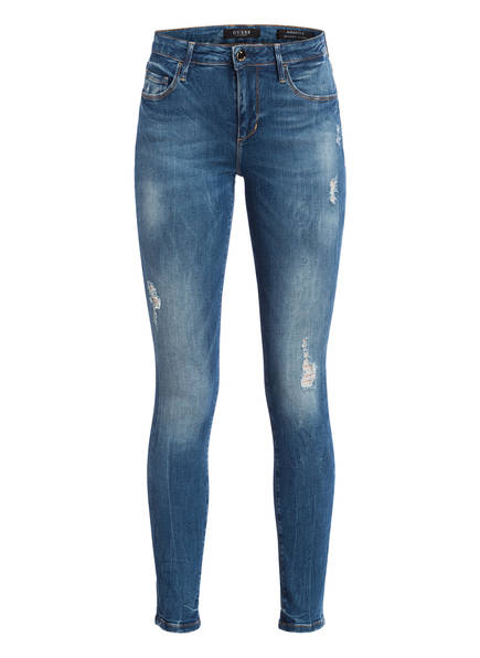 Guess 7/8-Skinny-Jeans Annette blau