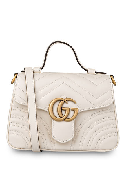 GUCCI Handtasche GG MARMONT MINI, Farbe: WHITE (Bild 1)