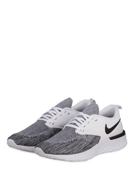 Nike Laufschuhe ODYSSEY REACT FLYKNIT 2, Farbe: GRAU/ SCHWARZ (Bild 1)